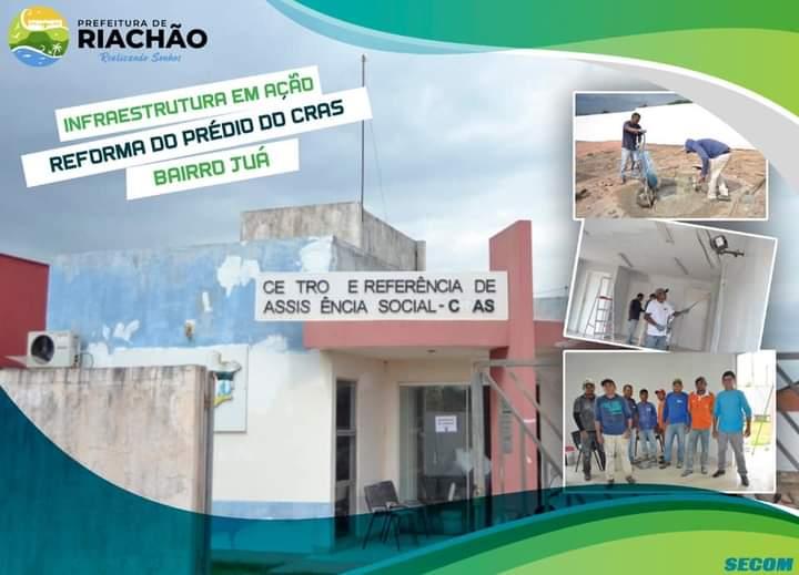 REFORMA PRÉDIO CRAS