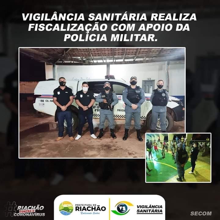 👀 VIGILÂNCIA SANITÁRIA REALIZA FISCALIZAÇÃO COM APOIO DA POLÍCIA MILITAR 🚔
