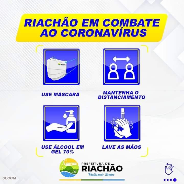 Riachão no combate ao coronavírus