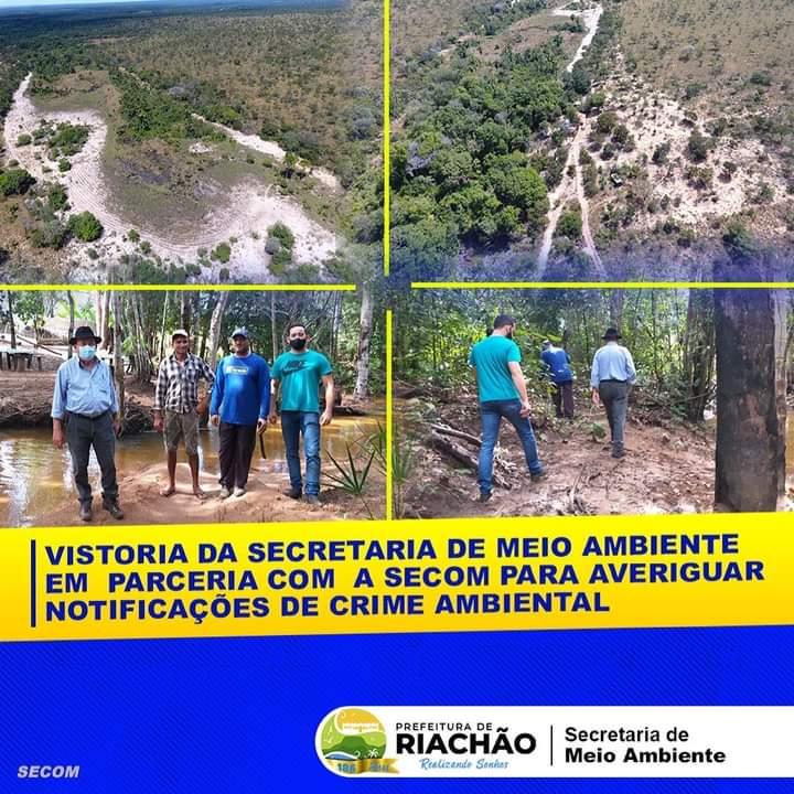 FISCALIZAÇÃO APÓS DENÚNCIA DE DESMATAMENTO 🕵🏼♀️🏞