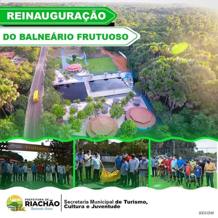 REINAUGURAÇÃO DO BALNEÁRIO FRUTUOSO 🎉🏊♀️