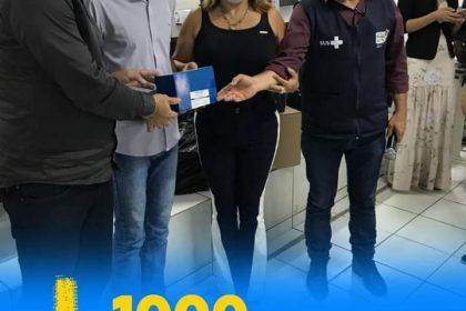 RECEBEMOS 1000 TESTES RÁPIDOS 🤩